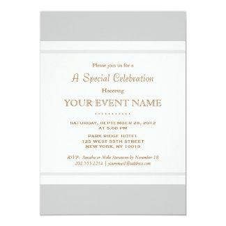 Simple Elegant Vintage Light Gray Professional Card