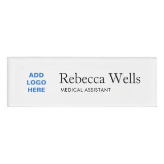 Simple Employee Staff Name Logo Badge