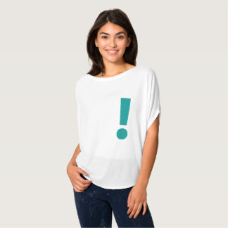 Simple Exclamation Mark Graphic Design Tee