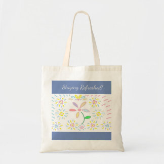 Simple Flower Design Bag