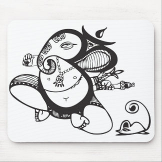 Simple Ganesh Mouse Pad