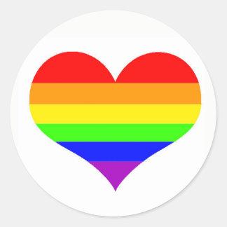 Simple Gay Pride Sticker