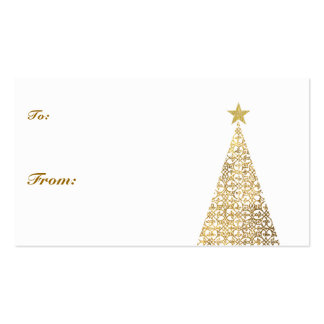 Simple Gift Tag Pack Of Standard Business Cards