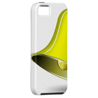 simple golden bell for casino and/or christmas the iPhone 5 case