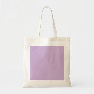 Simple graceful rough purple surface canvas bag