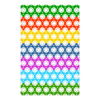 Simple Graphics - Exotic Happy Patterns Stationery Paper