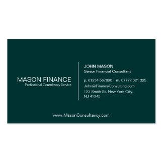 Simple Green Customizable Business Card Template