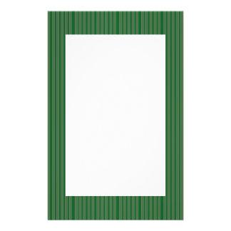 Simple Green Stripes 14 Cm X 21.5 Cm Flyer