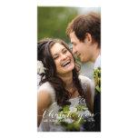 Simple Handwriting | Wedding Thank You Photo Card