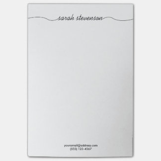 Simple Handwritten Script Typography Professional Post-it Notes
