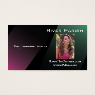 Simple Headshot Business Card