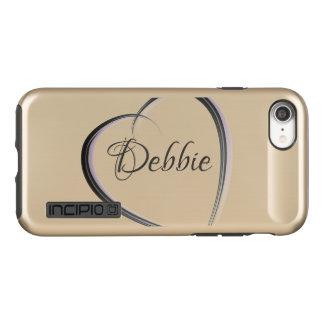 Simple heart | Personalized Incipio DualPro Shine iPhone 8/7 Case