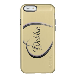 Simple heart   Personalized Incipio Feather® Shine iPhone 6 Case
