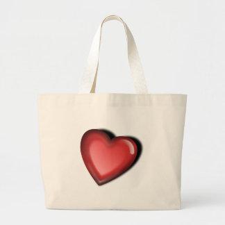 Simple Heart Jumbo Tote Bag