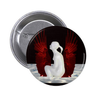 Simple Heaven 6 Cm Round Badge