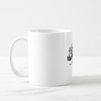 Simple Hippo Design Coffee Mug