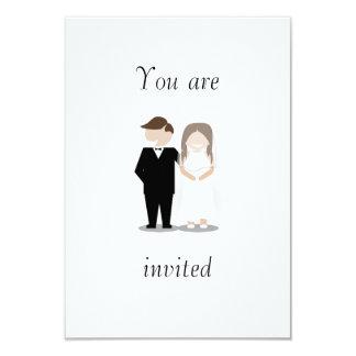 Simple Hipster Wedding Invitation