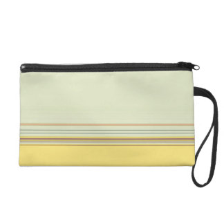 Simple Horizontal Striped - Yellow and Green Wristlets