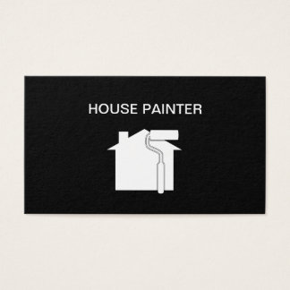 Simple House Painter Design Business Card