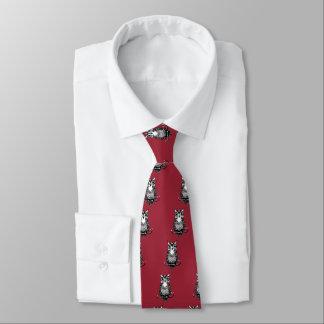Simple Illustrated Owl Tie