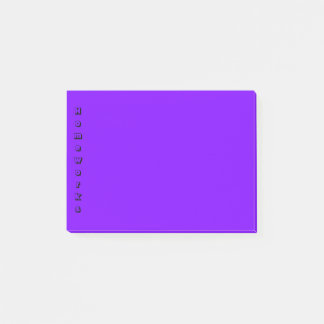 Simple Indigo/Violet Post-it Notes