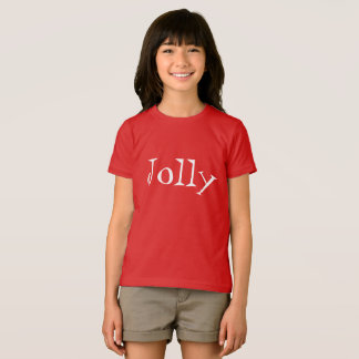 simple jolly t shirt inmodern text