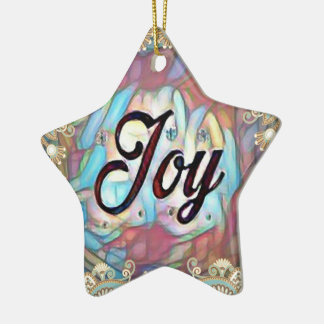 Simple Joy Ceramic Ornament