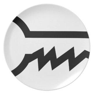 Simple Key Plate