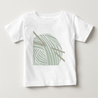 SImple Knitting Ball of Yarn Baby T-Shirt