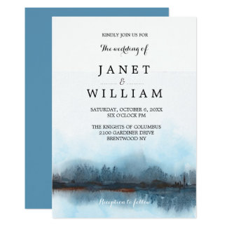 Simple Landscape Wedding by Ozias Card