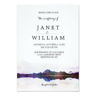 Simple Landscape Wedding by Ozias Card