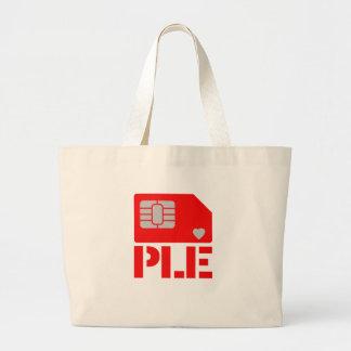 'SIM'ple Large Tote Bag