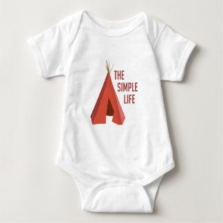 Simple Life Baby Bodysuit