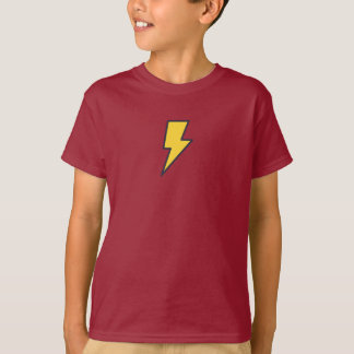 Simple Lightning Icon Shirt