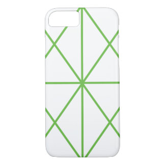 Simple-Lined Case / White & Green