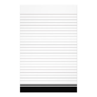 Simple Lined Paper for Notes Stationery