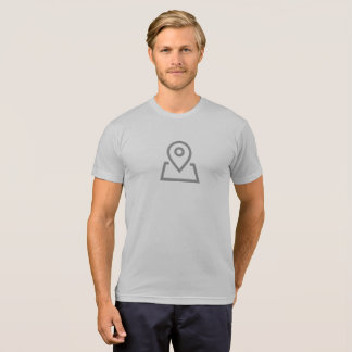 Simple Location Marker Icon Shirt