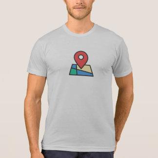 Simple Location Pin Icon Shirt