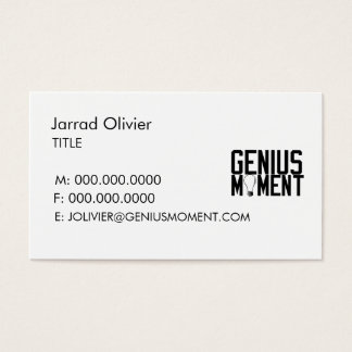 Simple Logo Business Card