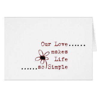 Simple love notes