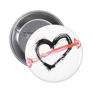 Simple love pins