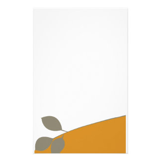 Simple  Lovely Plain Tree Branch Stationery