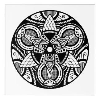 Simple Mandala 4 Acrylic Wall Art