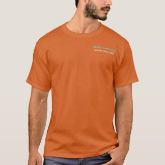 Simple Massage Therapist Tee - Orange