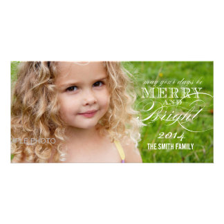 SIMPLE MERRY AND BRIGHT 2014 HOLIDAY PHOTO CARDS