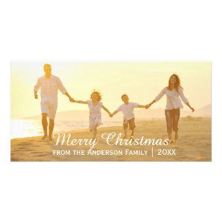 Simple Merry Christmas - Photo Card