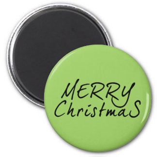 Simple Merry Christmas Text Fridge Magnets