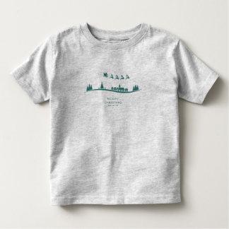 Simple Minimal Santa Claus Christmas Shirt