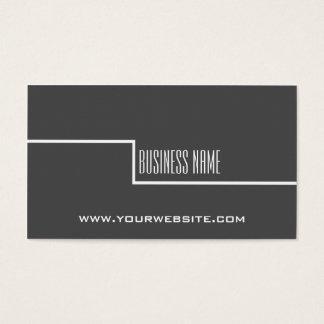 Simple Minimalist Consultant Business Card
