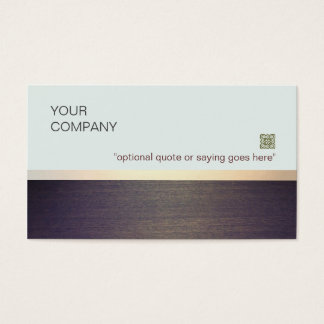Simple Minimalist Teacher Coach and Consultant Business Card